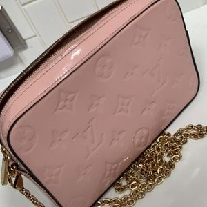 Louis Vuitton Vernos Camera Pouch Rose Cross Body